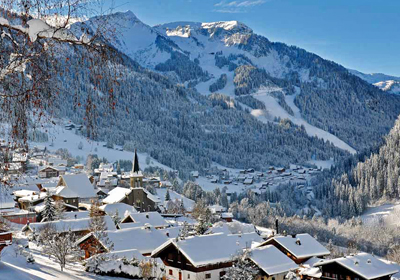 The Village, Chatel, France
