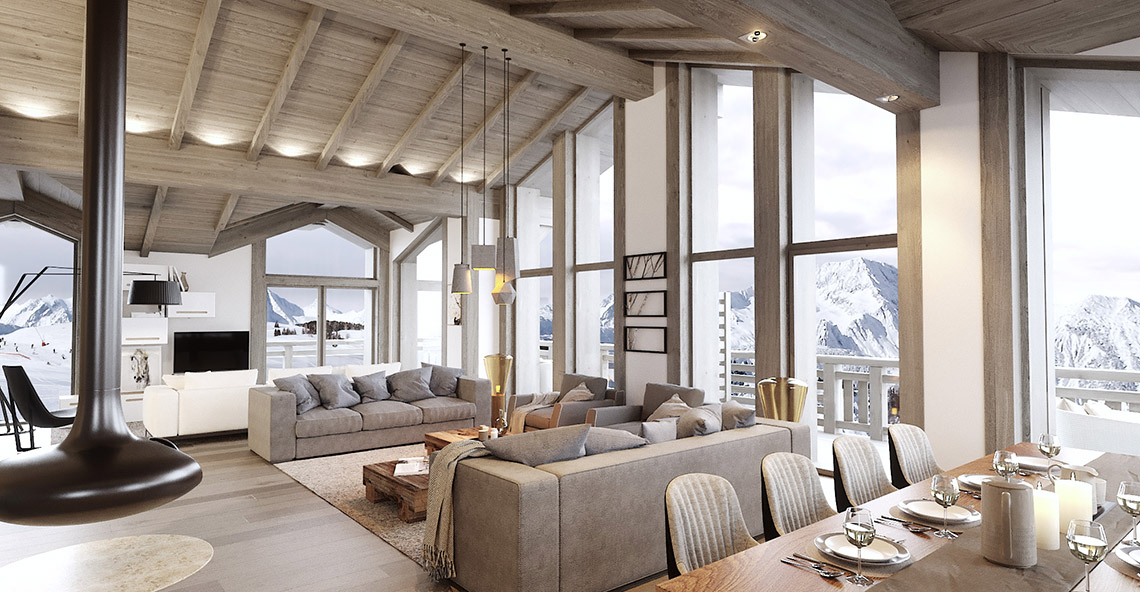 Canyon Lodge Chalet, France