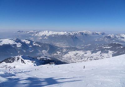The Skiing, La Clusaz, France