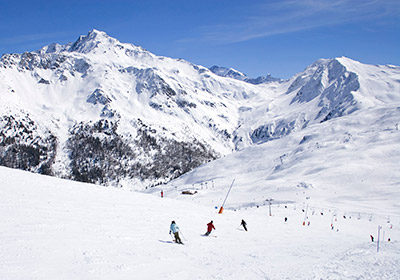 The Skiing, La Plagne, France
