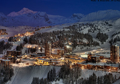 The Village, La Plagne, France