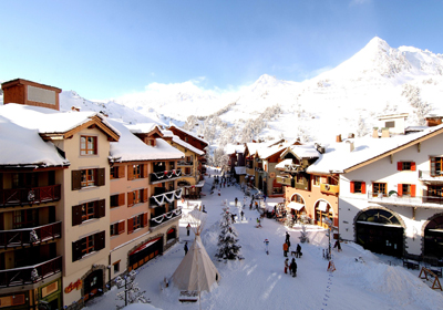 The Village, Les Arcs, France