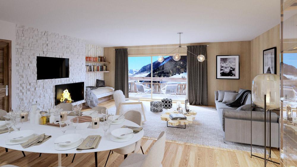 Hameau des Praz Apartments, France