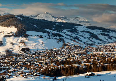 The Town, Megeve, France
