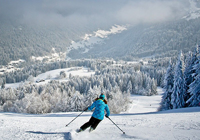 The Skiing, Morzine, France