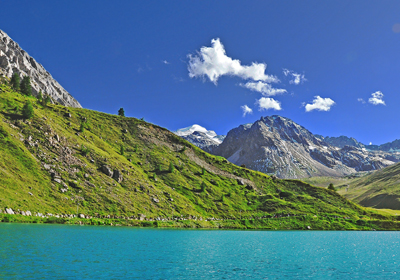 Summer, Val d'Isere and Tignes, France