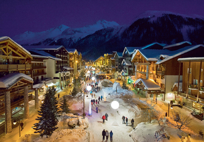 The Town, Val d'Isere and Tignes, France