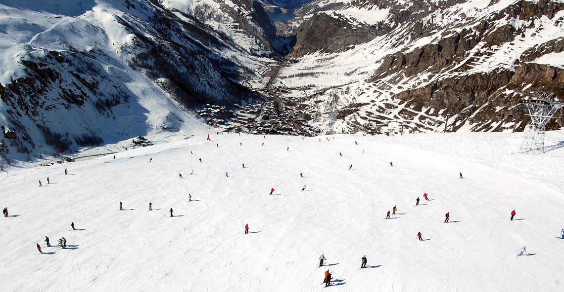 Val d'Isere and Tignes, France