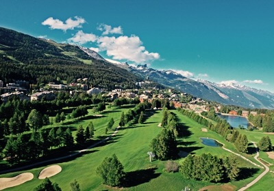 The Town, Crans-Montana, Switzerland