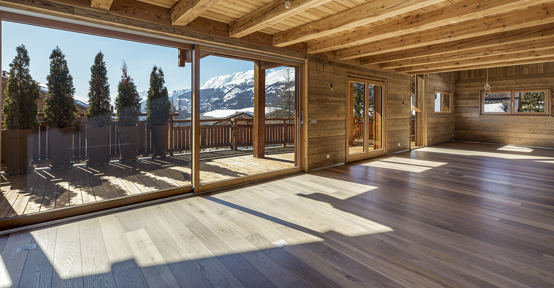 Symphonie des Neiges Chalet, Switzerland