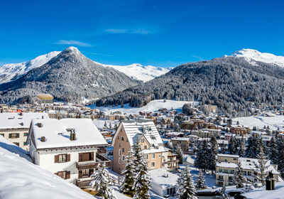 The Town, Davos-Klosters, Switzerland