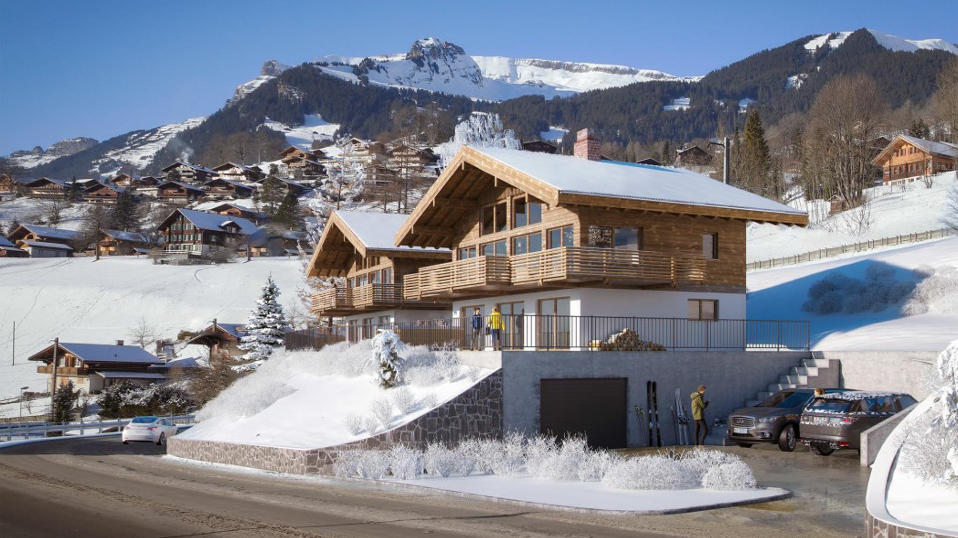 Chalet Aura Chalet, Switzerland