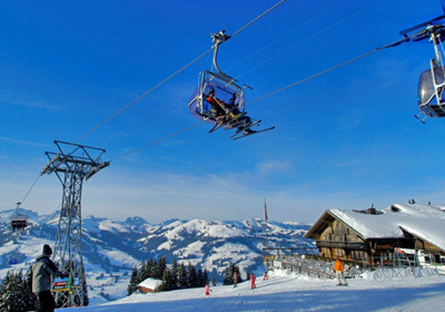 The Skiing, Gstaad Valley, Switzerland