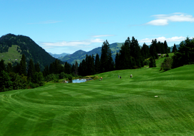 Summer, Gstaad Valley, Switzerland