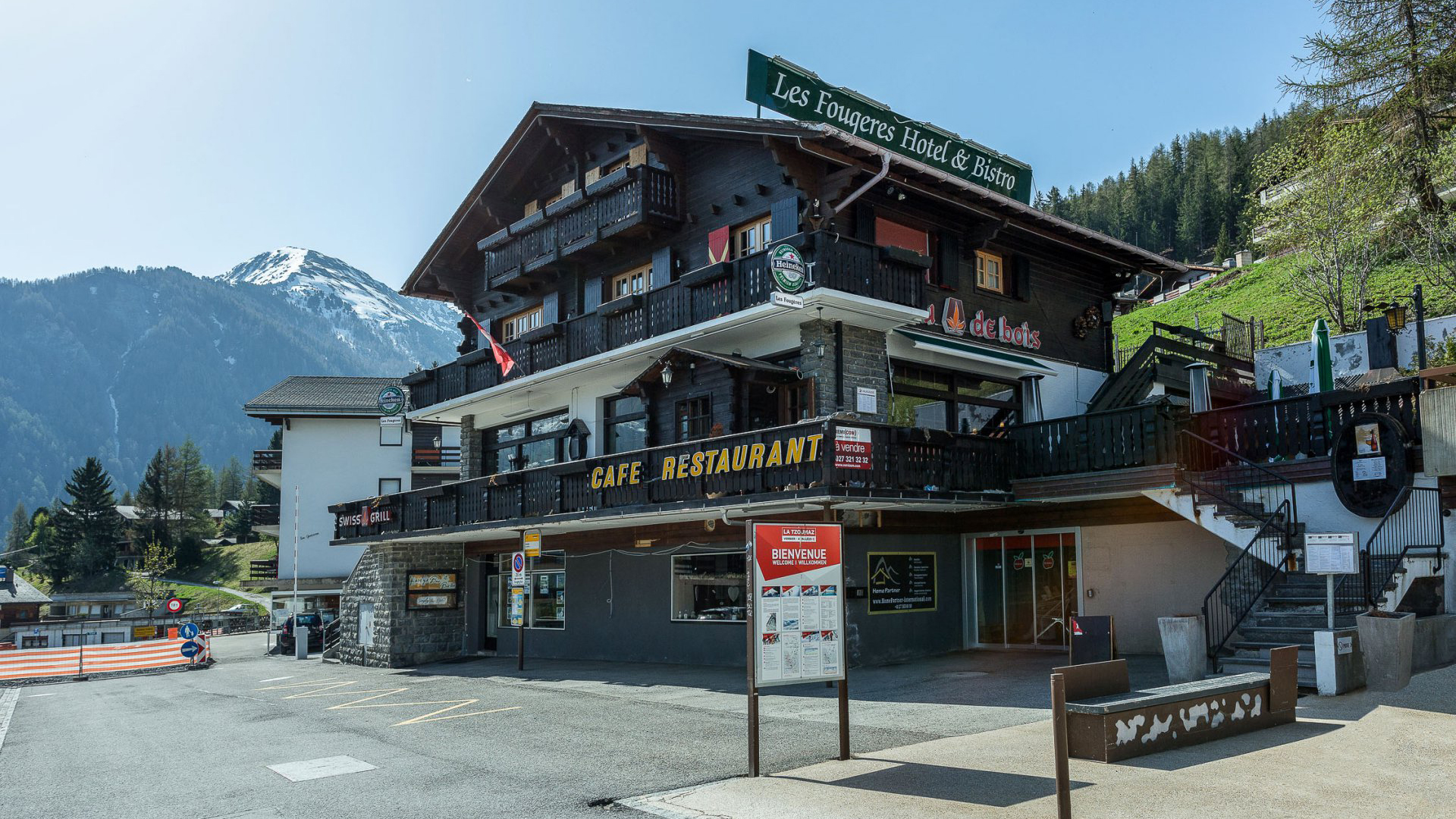 Les Fougeres Hotel, Switzerland