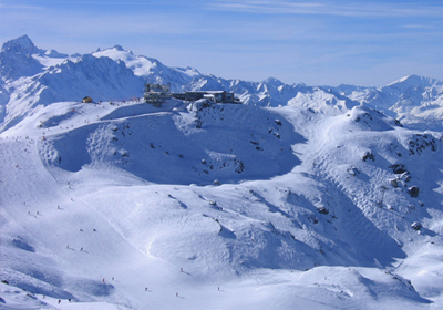 The Skiing, La Tzoumaz, Switzerland