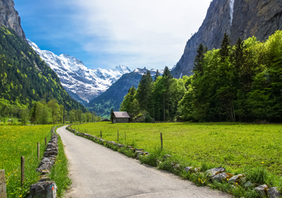 Summer, Lauterbrunnen, Switzerland