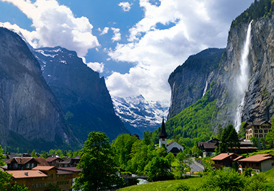 The Village, Lauterbrunnen, Switzerland