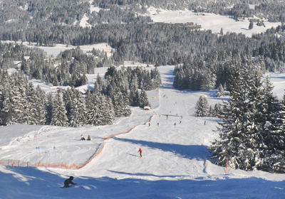 The Skiing, Lenzerheide-Arosa, Switzerland