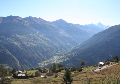 Summer, Les Collons, Switzerland