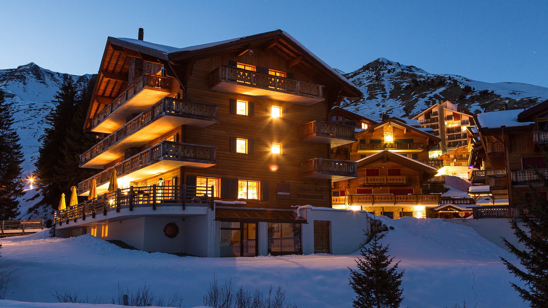 Mountain Lodge Hotel, Switzerland