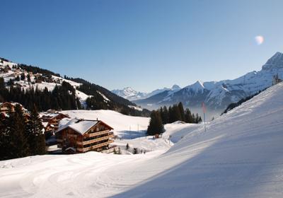 The Skiing, Portes du Soleil (CH), Switzerland