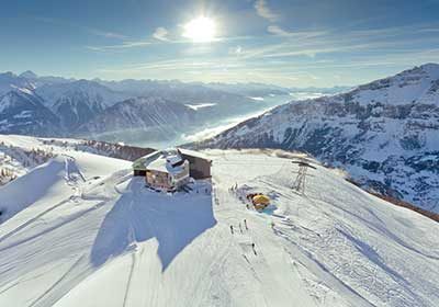 The Skiing, Leukerbad, Switzerland