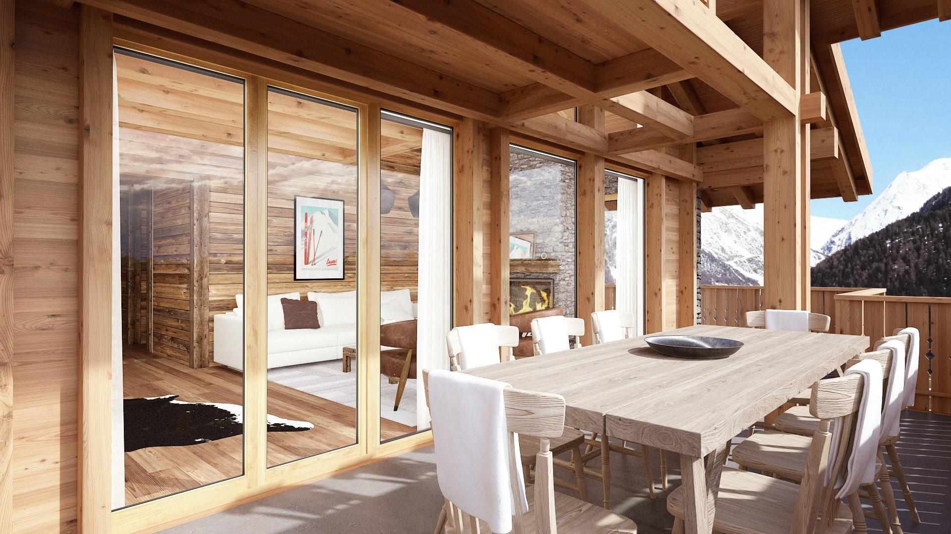 Hohnegg Lodge Chalet, Switzerland