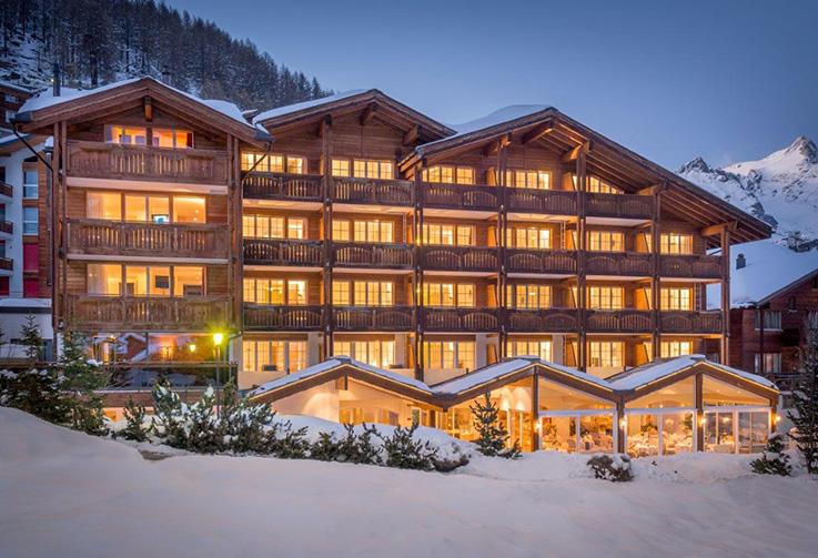 Saas Fee, Hotel Schweizerhof