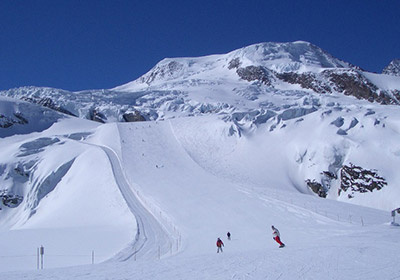 The Skiing, Saas Fee, Switzerland