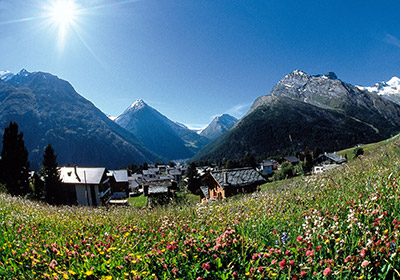 Summer, Saas Fee, Switzerland