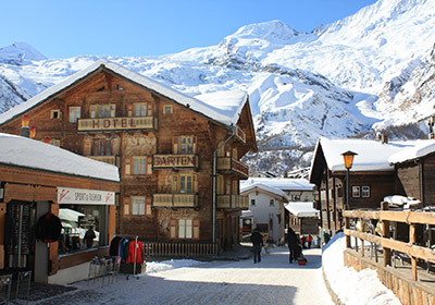 The Village, Saas Fee, Switzerland