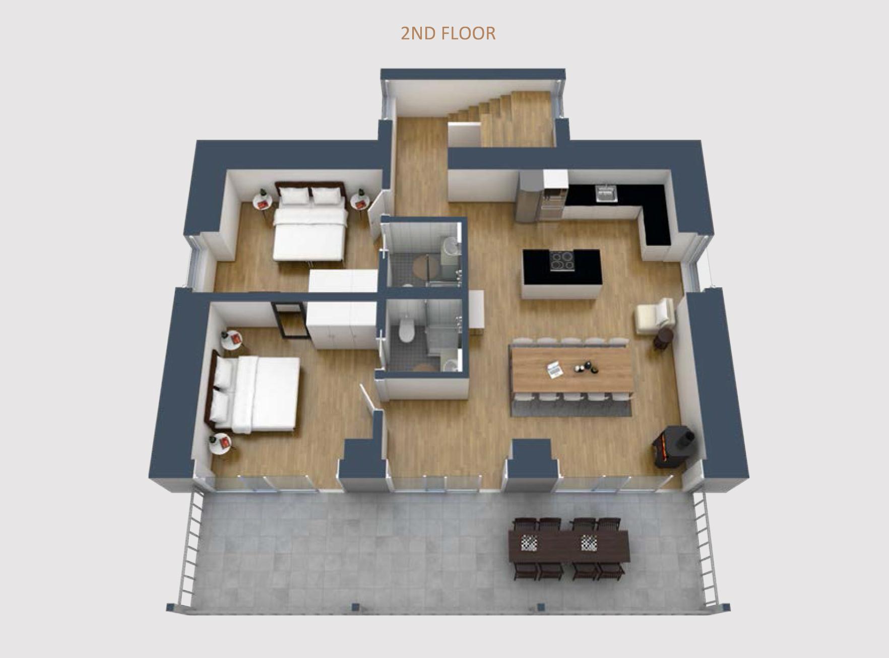 The Villa Apartments, Switzerland
