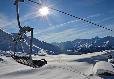 The Skiing, St. Luc - Chandolin, Switzerland