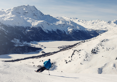 The Skiing, St. Moritz, Switzerland