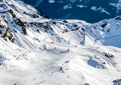 The Skiing, Verbier, Switzerland