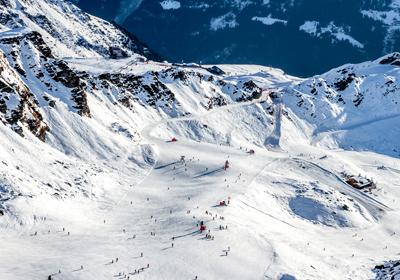 The Skiing, Verbier, Switzerland