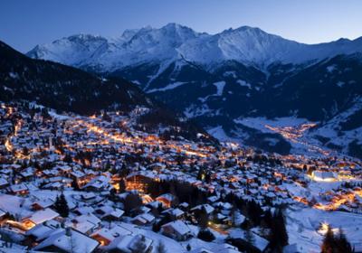 The Town, Verbier, Switzerland