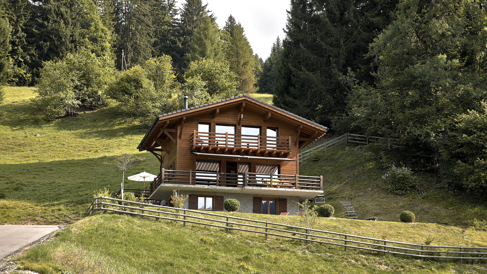 Creme Caramel Chalet, Switzerland