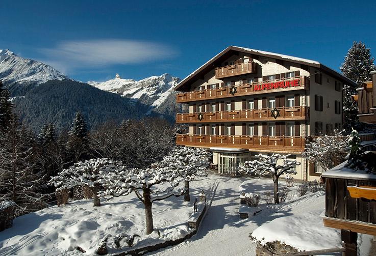 Wengen, Hotel Alpenruhe