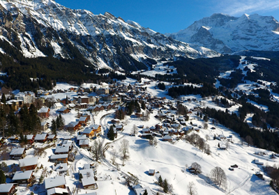 The Village, Wengen, Switzerland