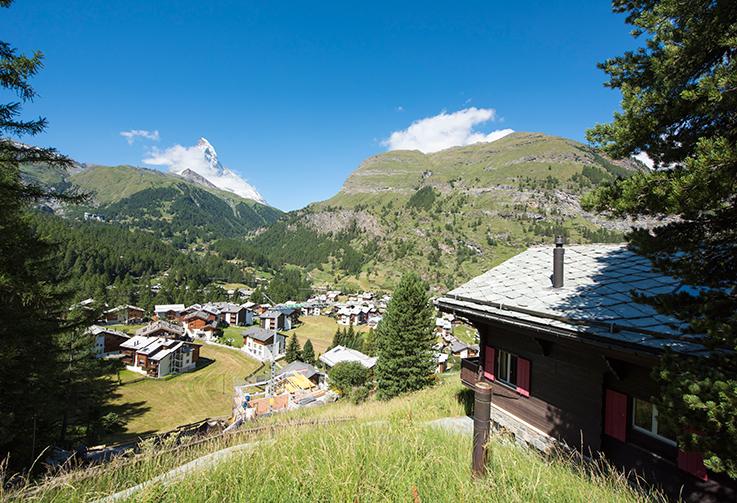 Zermatt, Chalet Erika