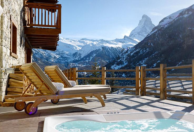 Zermatt, Chalet Maurice