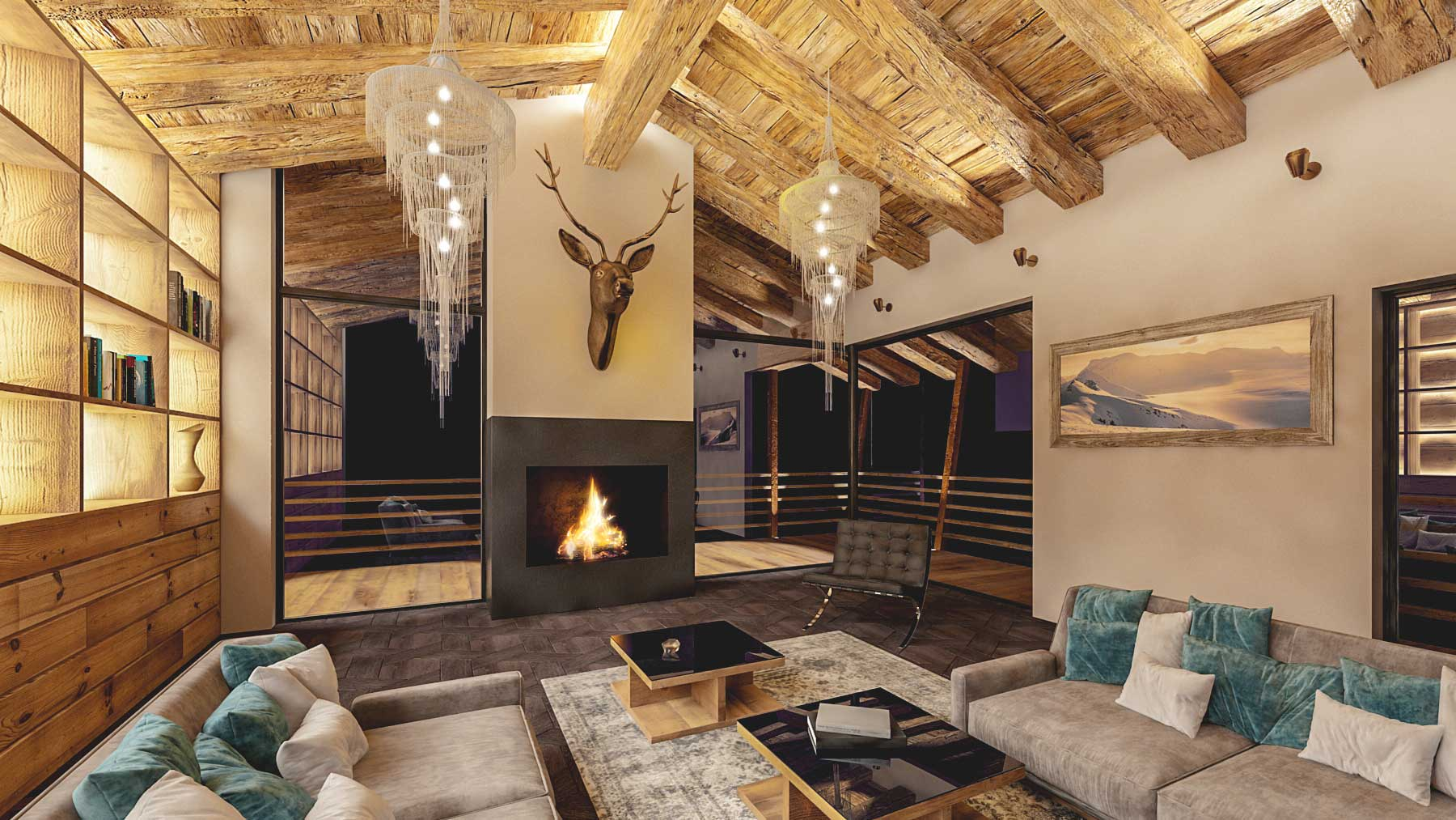 Chalet du Centre Chalet, Switzerland