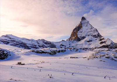 The Skiing, Zermatt, Switzerland