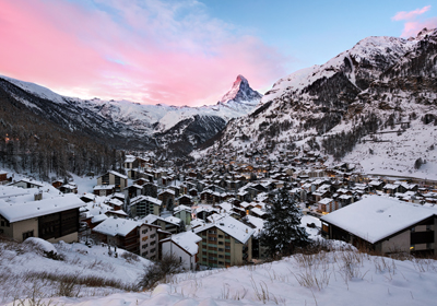 The Town, Zermatt, Switzerland