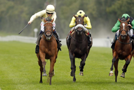 <p>ROMANTIC TIME (GB) - Winner of the Gr.3 Dick Poole Fillies' Stakes at Salisbury</p>