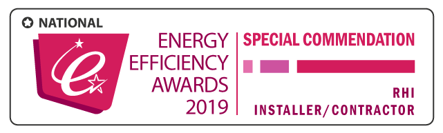 Special Commendation: RHI Installer/Contractor of the Year – National Energy Efficiency Awards 2019