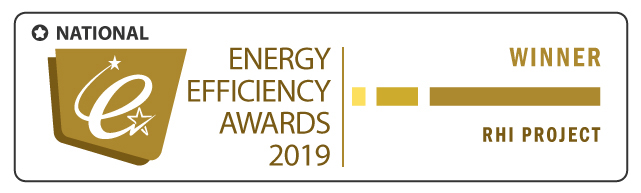 Winner: RHI Project of the Year – National Energy Efficiency Awards 2019