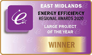 Project of the Year – East Mids EE Awards 2020